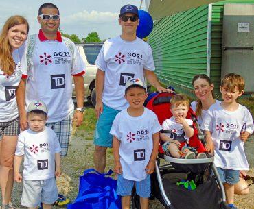 3rd Annual Halton Walk for Down Syndrome at the Milton Fairgrounds in Milton