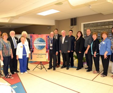 Milton Toastmasters Club 35th Anniversary and Open House