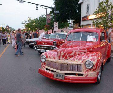Downtown Milton Classic Car Show