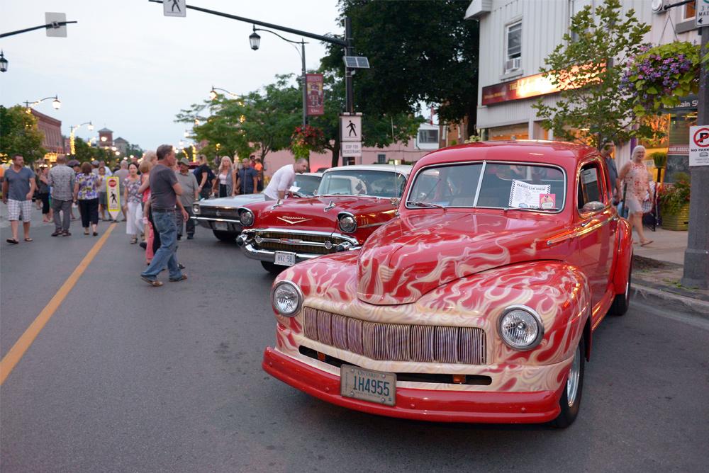 Downtown Milton Car Show