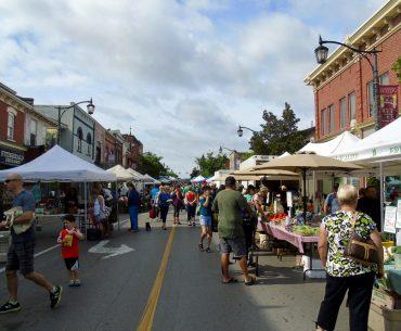 Farmer's Market in Milton