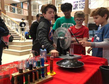 Children do experiments
